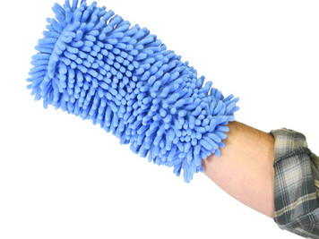 CRAZEDpilot Aircraft Grade Microfiber Aviation Wash Mitt