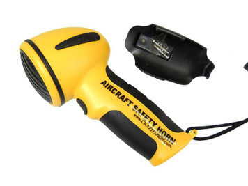 Aviation Safety Horn for Aircraft Emergencies & Ramp Safety Awareness
