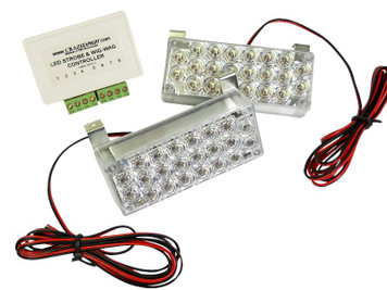 LED Strobe Wig-Wag and Landing Light Kit for Experimental and LSA
