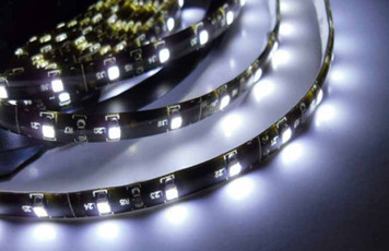 LED Lighting Flexible waterproof 15ft strip - RED/WHITE/BLUE!