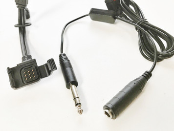 Cockpit Audio Recording Cable Adapter for GARMIN VIRB X & VIRB XE Cameras