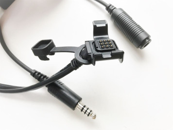 HELICOPTER Audio Recording Cable Adapter for GARMIN VIRB X & VIRB XE Cameras