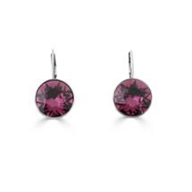 Midnight Rose Drop Earrings (E4217)