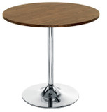 Ellipse Cafe Break Out Table Trumpet Base (CT)