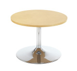 Astral Low Circular Trumpet Base Coffee Break Out Table (CT)