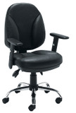 Puma faux Leather Operator Chair (CT)