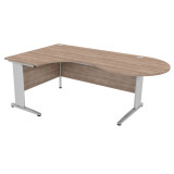 Atmosphere Crescent Conference Desk Cantilever Leg (PL)