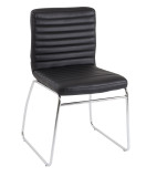 Lazio Black Faux Leather Executive Meeting Room Chair (CT)