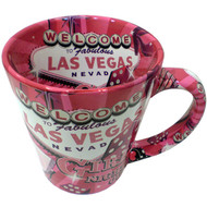 Las Vegas Girl's Night Out Trumpet Mug- 12oz