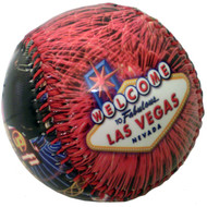 Las Vegas Fireworks Collage Design Baseball