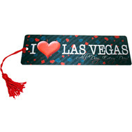 "Las Vegas Souvenir Bookmark ""I Heat LV"" Design"