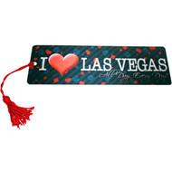 "Las Vegas Souvenir Bookmark ""I Heat LV"" Design"