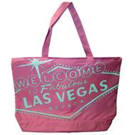 Jumbo All Pink Las Vegas Souvenir Tote Bag