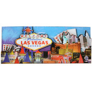 Las Vegas Magnet- Blue Skyline