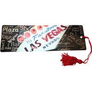 "Las Vegas Souvenir Bookmark ""Sign and Words"" Design"