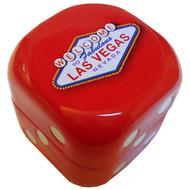 Large Red Dice Las Vegas Tin Mints