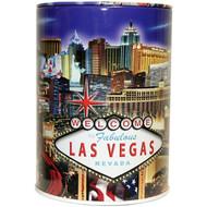 Tin Las Vegas Souvenir Savings Bank- LV Strip