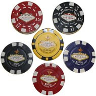 """""""Poker Chip"""" Lighters"""