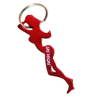 "KC Las Vegas  Souvenir LADY Bottle Opener ""Choose Your Color"""