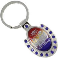 Las Vegas Keychain Metal Rainbow Horseshoe