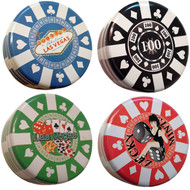 Las Vegas Poker Tin Mints-4 Pack