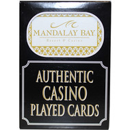 Mandalay Bay Playing Cards from Las Vegas Casino