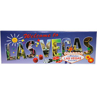 Las Vegas Magnet with View of FUN Vegas Icons