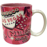 Las Vegas Girls Night Out Coffee Mug- 11oz.