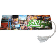 "Las Vegas Souvenir Bookmark ""Photos"" Design"