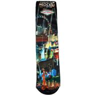 CHILD Souvenir Las Vegas Socks- Black Spotlights