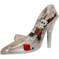 """Las Vegas"" Snowglobe/Paperweight Princess Shoe"