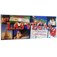 Panoramic Las Vegas Strip Collage Magnet