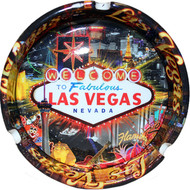 Las Vegas Ashtray Color Line LV