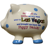 Someone Who Love Me Very Much- Las Vegas Blue Dots Piggy