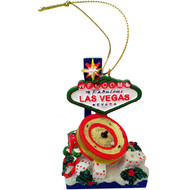 Las Vegas Gaming Christmas Ornament