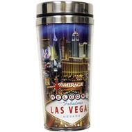 "Las Vegas ""Strip"" Travel Mug Souvenir- 16oz."