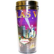 LV Travel Mug Purple Spotlights- 16oz.