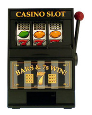 """Casino"" Slot Machine Coin Bank"