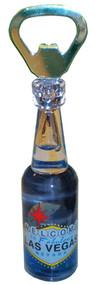 Blue Dolphin Las Vegas Bottle Opener Magnet