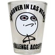 Las Vegas Shotglass Challenge Accepted