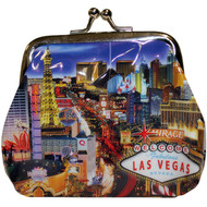 Las Vegas Coin Purse Strip Design