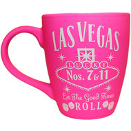 Las Vegas PINK Whisky 12oz Harbour Mug