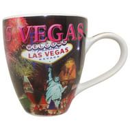 Oversized Las Vegas Coffee Mug- Fireworks