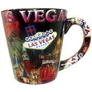 Cone Las Vegas Fireworks Design Mug