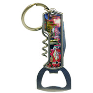 Multi Tool Las Vegas Key Chain