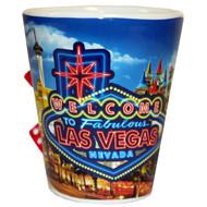 "Las Vegas ""Neon"" Spinning Dice Shotglass"