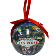 Las Vegas Ball Ornament- STRIP
