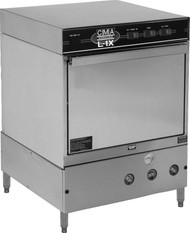 """Dishwasher, undercounter, 24""""W x 23-1/2""""D x 31""""H, low temperature chemical sanitizing, (30) racks/hour, 12-1/8""""H dish clearance, built-in chemical pumps & deliming system, built-in primer switches & instant start, upper & lower stainless steel wash arms with reinforced end caps, pumped drain, pump purging system, built-in strainer for water inlet, door safety switch, electrical components housed in stainless steel drawer, stainless steel construction, 4"""" adjustable legs, includes (1) open & (1) peg rack, 1 HP wash pump, NSF, UL, cUL"""