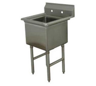 "One Compartment Sink, 18"" x 24"" ADVANCE TABCO FE-1-1824-X"