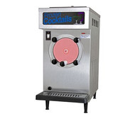 Frozen Cocktail/Beverage Freezer, counter model, air or water cooled, self-contained refrigeration, 1 head, 25 qt. evap. & refrig. mix capacity, welded steel frame, stainless steel exterior, automatic torque control, auto. visual mix out system, 1/2 HP dasher, 3/4 HP compressor, UL, NSF & cUL